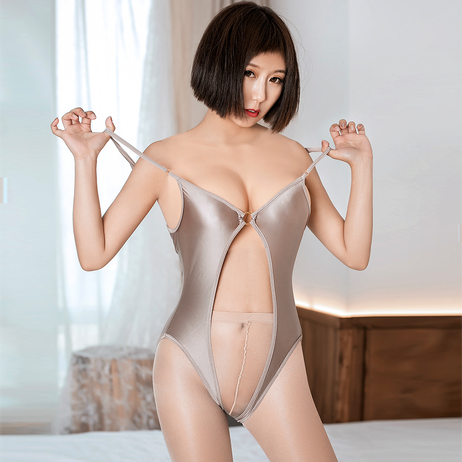 Cosplay Schoolgirl Girl Porno Swimsuit High Elasticity Shiny Hollow Out Sexy Bodysuit Japanese Style Woman Erotic Party Jumpsuit