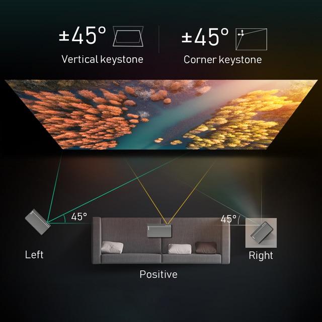 BYINTEK Mini 3D Projector P12,Android 6.0,Smart Wifi Pocket Portable Video Beamer 6