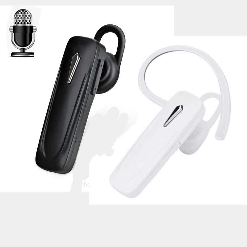 M163 Bluetooth 4.1 Olahraga Headset Mini Wireless Earphone Hands-Free Earloop Earbud Musik Earphone untuk IOS Android Ponsel