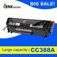 INKARENA Compatible Remplacement de la Cartouche De Toner Pour HP CC388A 388a 388 88a LaserJet P1007 P1008 P1106 P1108 Pro M1136 M1213nf|Cartouches de toner| |  -
