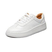 2018 Fashion Women Shoes Platform Sneakers Ladies Lace-up Ca