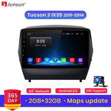 Junsun V1 2G + 32G Android 9,0 para Hyundai Tucson 2 ix35 2011-2014 auto Radio Multimedia reproductor de Video GPS de navegación 2 din dvd(China)