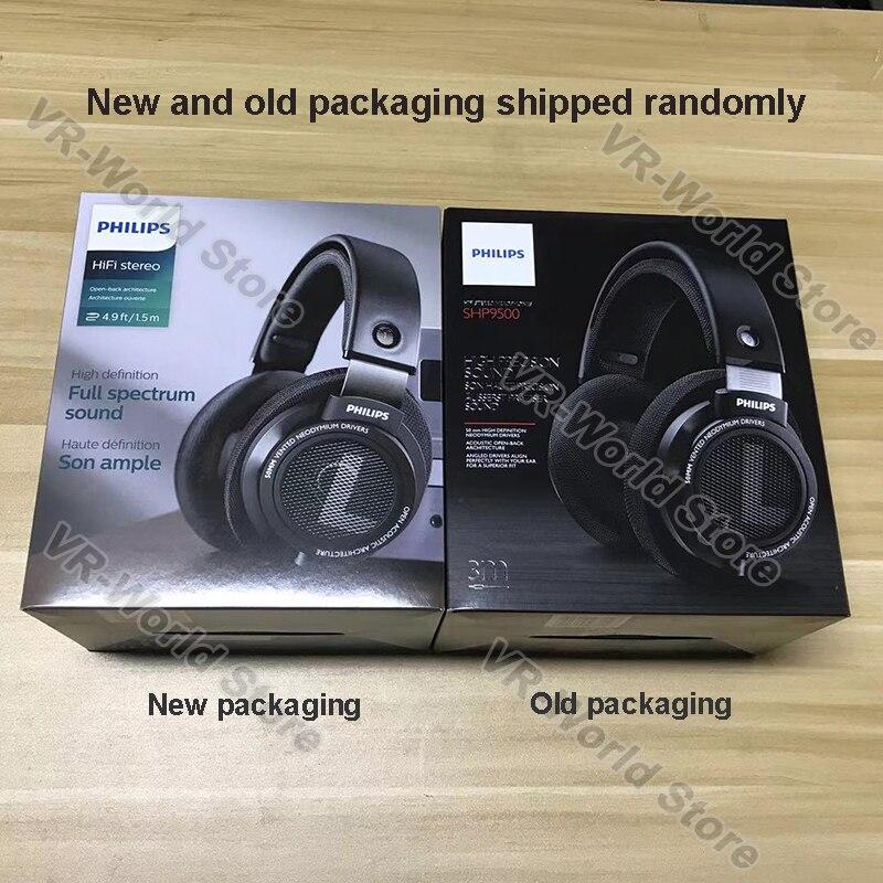 Оригинальные Наушники Philips SHP9500 HIFI, проводные, съемные, 3 м, кабель, гарнитура для Huawei Xiaomi Samsung, ноутбука, поддержка официального тестирования - 6