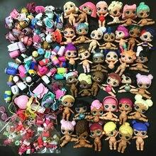 L.O.L. SURPRISE – Grandes poupées avec vêtements aléatoires pour enfant,lot de jouets de 4 ou 8 cm, ensemble d'accessoires y compris les chaussures, soeur LIL, animaux de compagnie, offre spéciale, 6/10/20 pièces,