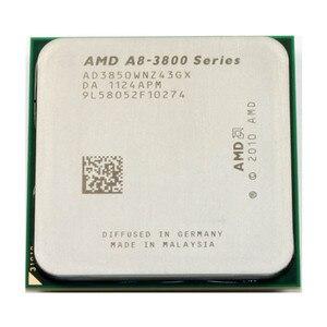 AMD A8-Series A8-3850 Quad-Core CPU 2.9G Desktop Set Display Apu AD3850WNZ43GX A8 3850 Socket FM1 905pin Free Shipping