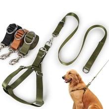 Nylon Heavy-duty Dog Pet Harness Collar Adjustable Oversized Large and Medium-sized Vest