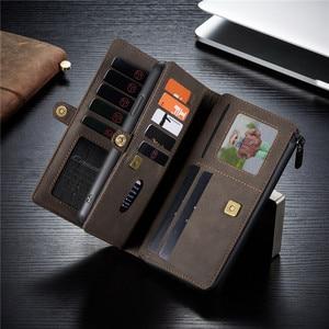 Image 3 - กระเป๋าหนังสำหรับiPhone 12 11 Pro XS Max XR X SE 2020 8 7 Plusสำหรับsamsung Note 20 Ultra 10 S20 A51 A71 Coque