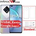 Infinix ноль 8 8GB 128GB смартфон Новый глобальная версия 6,85 ''90 Гц Full Экран 64-мегапиксельная четырехъядерная камера 4500 мА/ч, Батарея 33 Вт Зарядное ус...