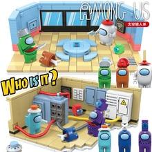 Novo 521 pçs entre os eua modelo kits blocos de construção conjuntos mini figuras brinquedos tijolos juguetes diy para as crianças como natal crianças presentes
