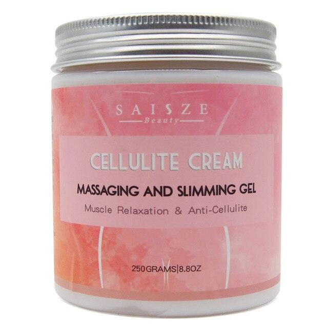 250g Drop shipping Cellulite Slimming Cream Hot Massage Leg Skin Relax Cream Adipose Massage Weight Burning Loss