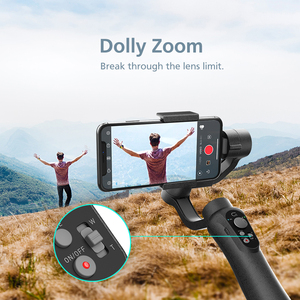 Image 5 - CINEPEER C11 Handheld Stabilizer 3 Axis Object Tracking Smartphone Gimbal for Video Vlog Powered by ZHIYUN VS isteady