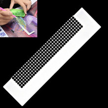 5D Diamond Painting Ruler Stainless Steel Blank Grids Round Full Drill Kit Tools SP99