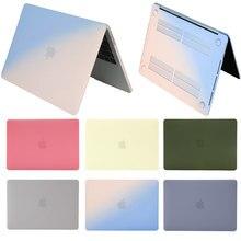 2020 coque crème pour ordinateur portable pour MacBook M1 puce Air Pro 13 A2337 A2338 étui, barre tactile A1932 A2179 A1466 A1989 pour mac Touch ID case