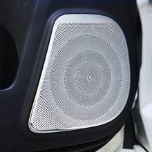 Pour Toyota Land Cruiser Prado 150 2010 2011 2012 2013 2014 2015 2016 2017 2018 2019 2020 Porte Corne Haut Parleur Revêtement Dhabillage 4 pièces/ensemble