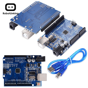 Image 3 - Carte de développement UNO R3 ATmega328P CH340 CH340G pour Arduino UNO R3 avec tête de broche droite