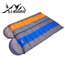 Sleeping Bag Camping Envelope Sleeping Bag Thermal Adult 4 seasons Sleeping Bag Outdoor Travel Waterproof Sleeping Bed купить недорого в Москве
