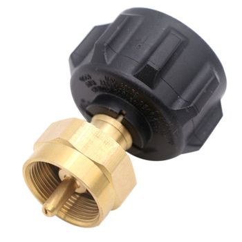 Tank Gas Propane Regulator Valve Joint Refill Adapter Outdoor Camping BBQ Gas Stove Conversion Adapter Supplies Parts