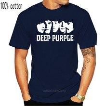 Novo profundo roxo 2 nova camisa t eua tamanho em1 ginásio camiseta