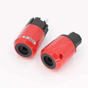 Image 5 - P330+C330 Audio Grade Rhodium Plated EU Schuko AC Power Plug+ IEC Connector Plug DIY Power Cord