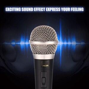 Image 5 - Microphone karaoké portable professionnel filaire Microphone dynamique clair micro Vocal pour karaoké partie chant musique Performance chaude