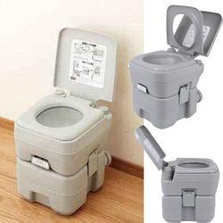 Yonntech 20л портативный смывной открытый Туалет для кемпинга караван мобильный горшок туалет