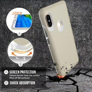 Image 3 - TOIKO funda protectora de doble capa funda de teléfono para xiaomi Redmi Note 5 Pro, Note 5, Global, PC duro, suave, TPU, a prueba de golpes