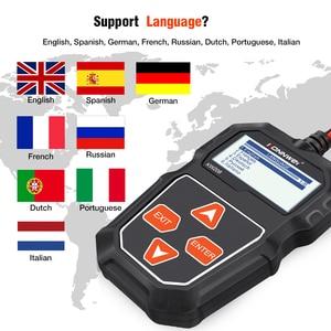 Image 5 - Konnwei kw208 12v testador de bateria carro digital automotivo diagnóstico testador analisador veículo cranking ferramentas carregamento scanner