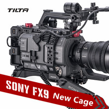 Tilta ES T18 Camera Cage for SONY PXW FX9 DSLR Camera full cage PXW FX9 Rig with base plate power ES T18 in stock