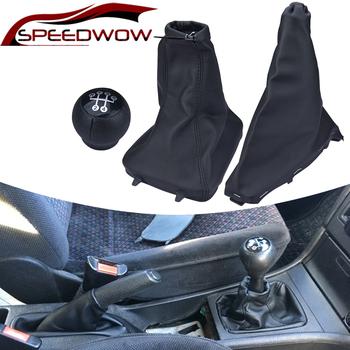 Dźwignia zmiany biegów samochodu gałka zmiany biegów hamulec ręczny osłona przeciwpyłowa Case Anti Slip Boot dla Opel Astra II G Zafira A 98-10 COMBO C 01-11 tanie i dobre opinie SPEEDWOW CI02045 Iso9000 0 2kg 00inch 1998-2010 PU leather and ABS Replacement Black Gear Shift Knob Auto Gear Shifter Lever Stick