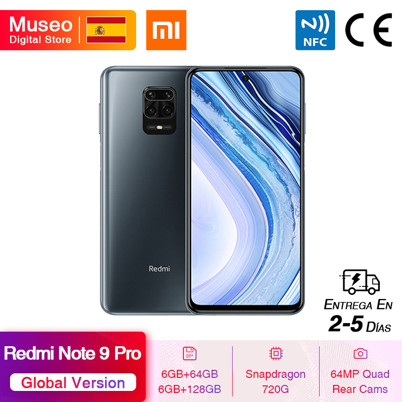 Global Version Xiaomi Redmi Note 9 Pro 6GB 64GB / 128GB Snapdragon 720G 64MP AI Quad Cam Smartphone Note 9 Pro 5020mAh 30W QC|Cellphones| - AliExpress