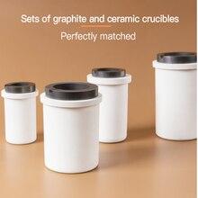 Alta qualidade 1kg opcional capcity opcional cerâmica cadinho grafite cadinho jóias ferramentas de fusão cadinho