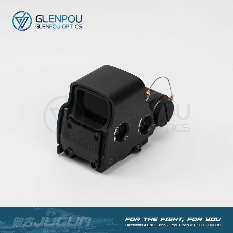GLENPOU Taktis EXPS3 558 551 552 Hologram Red Dot Lingkup Kaca Pembesar Combo Senapan dengan Flip Mount Airsoft & Berburu ruang Lingkup