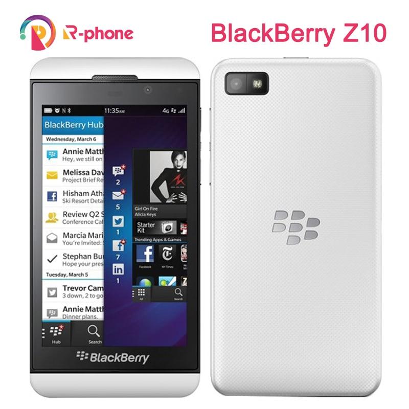 Blackberry Z10 двойной отремонтированный мобильный телефон core GPS WiFi 8MP 4,2
