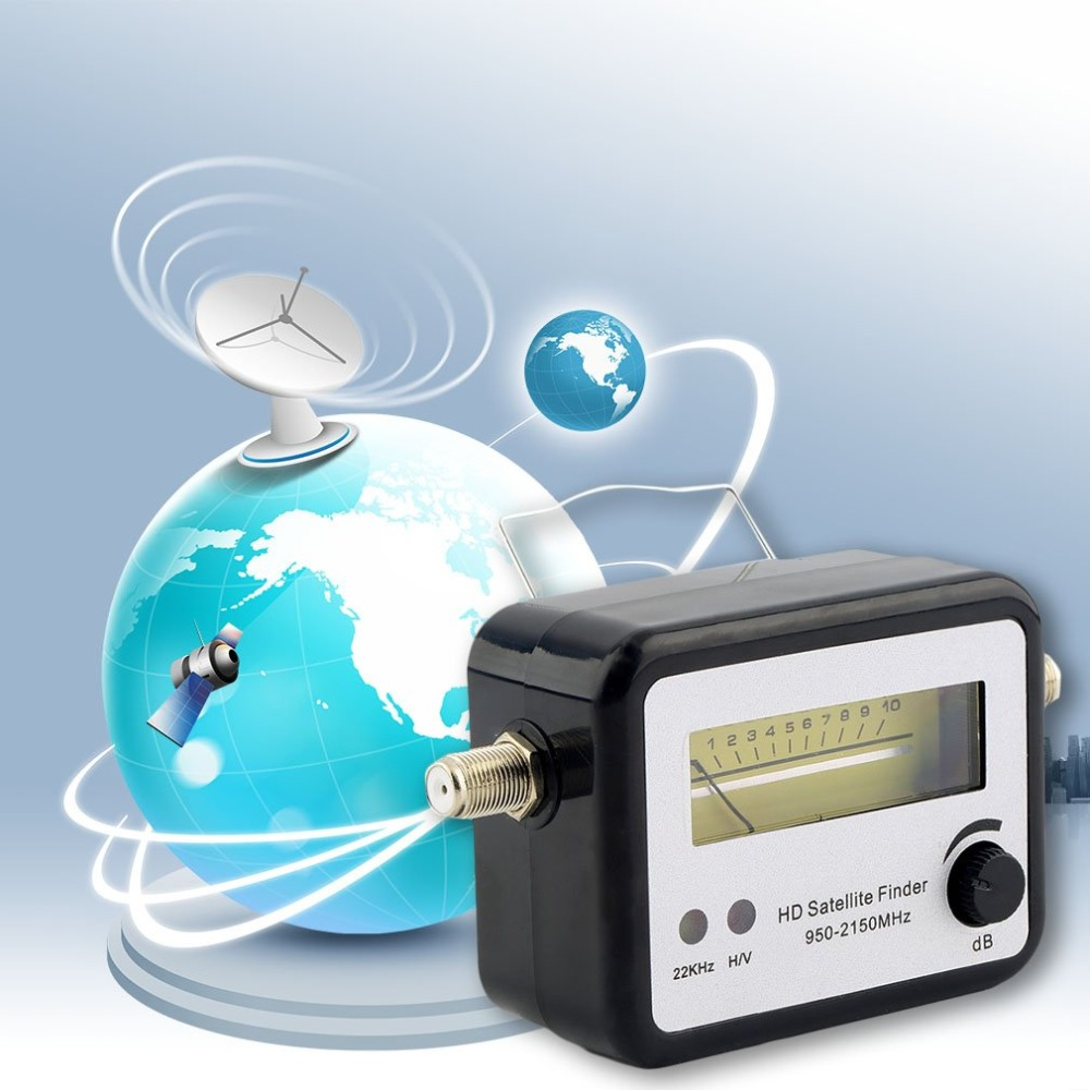 Цифровой спутниковый сигнал Finder выравнивание сигнала Satfinder метр FTA ТВ приемник сигнала Finder оптовая продажа для спутникового ТВ-приемника