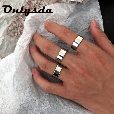 I LOVE YOU Couple Rings DIY Engrave Name Date Stainless Steel Unisex Wedding Rings for Women Men Lover Anniversary Jewelry Gift