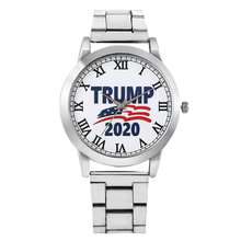 Men Quartz Analog Watch Unique Trump 2020 Pattern Dial For M