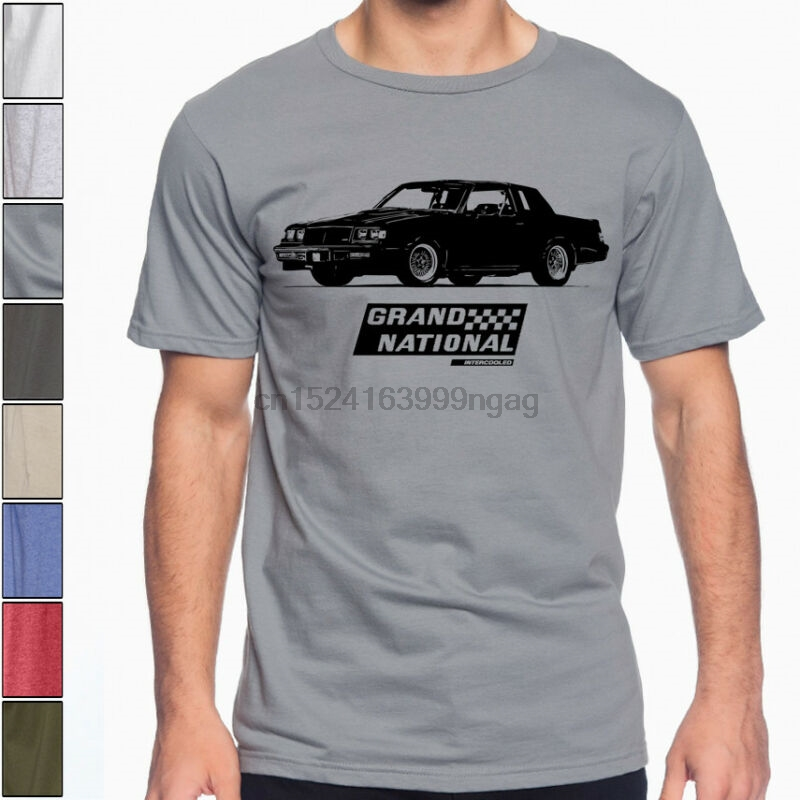 1987 REGAL GRAND NATIONAL Buick Turbo GN Soft Cotton T-Shirt GNX