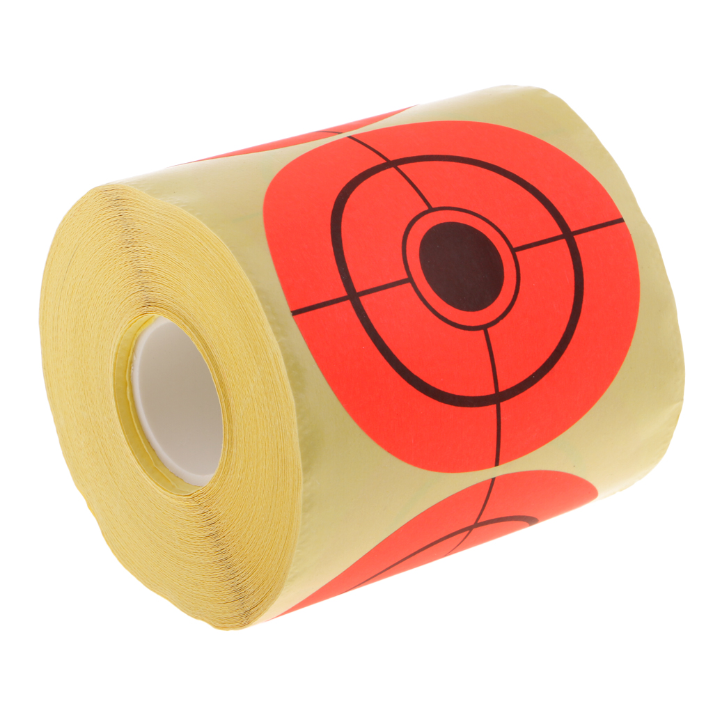 250pcs Dia 7.5cm Paper Target Roll For Archery Bow Hunting  Practice