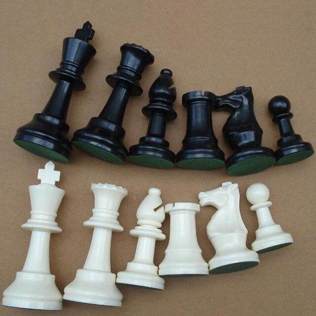 Jeu d'échecs médiéval 64/77/97mm, plateau magnétiques très pratique 5