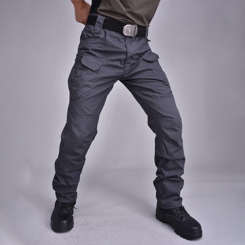 Тактические Брюки камуфляжные брюки хлопковые комбинезоны Осенние уличные брюки с несколькими карманами износостойкие HH1