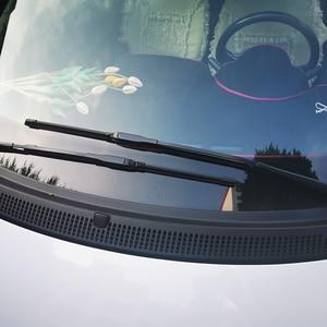 Image 2 - 2x Suave Frameless Bracketless Borracha Car Windshield Wiper Blade 14   23 21 20 Acessórios Para Smart fortwo forfour 451 453