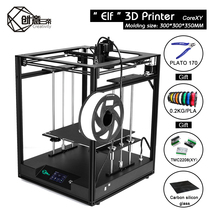 창의력 Corexy ELF FDM 3d 프린터 키트 대형 인쇄 영역은 산업 개인 엘프에 대한 BLTOUCH 자동 평탄을 지원합니다