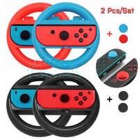 2 pcs Nintendos Nintend Interruttore Gioia con Controller Racing Wheel Steering Interruttore Nintendoswitch Maniglia Manopole per Nitendo Giochi