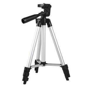 Image 5 - Trépied dappareil photo professionnel léger portatif en Aluminium pour le téléphone intelligent de liphone 7 X Redmi 8 7 de Nikon Sony DSLR DV