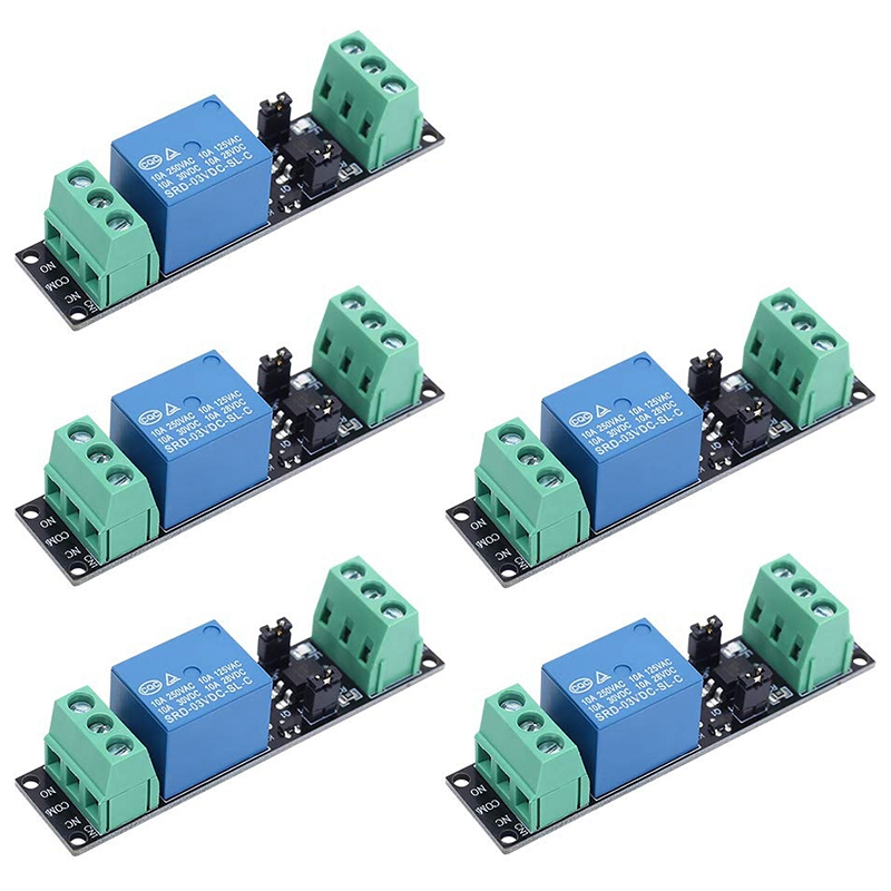 3V 1 Channel Relay Power Switch Module With Optocoupler Opto Isolation High Level Trigger For IOT ESP8266 Development Board (Pac
