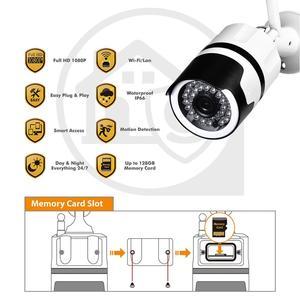 Image 5 - Inesun [2020 新加入] 屋外ワイヤレスセキュリティカメラ 1080 1080p 防水無線 lan ip カメラホーム弾丸カメラ ios android アプリ