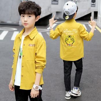 Boys Spring & Summer Cotton-Shirts