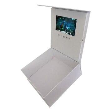 AFBC 7 Inch Video Gift Box Greeting Card Lcd Light Control Gift Box Greeting Card Video Gift Box Greeting Card Graduation Gift B