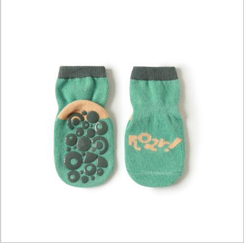 3pairs 0-5YearAutumn new children's tube socks dispensing non-slip baby floor socks learning socks for kids boy and girl 2