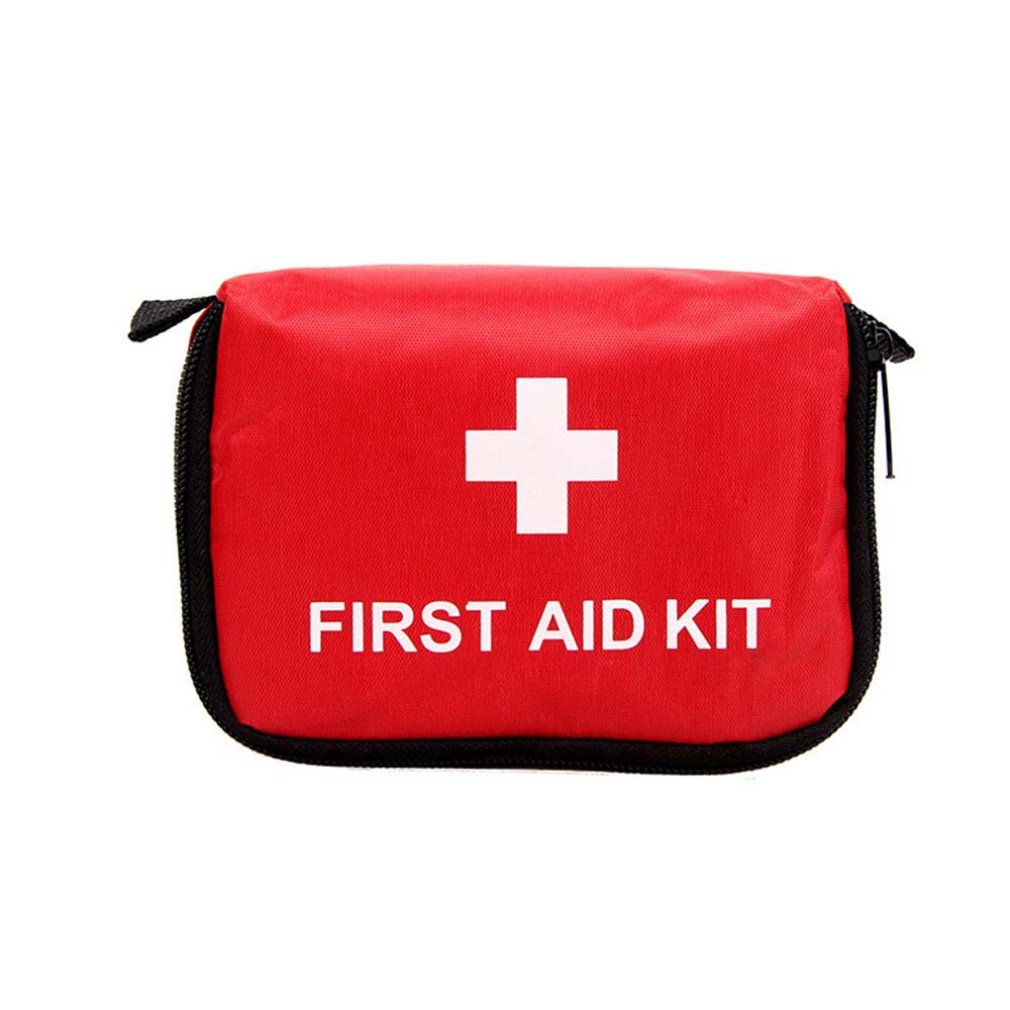 9-Piece Small Emergency Kit Set Outdoor Family Car Gift First Aid Kit High-Density Ripstop Easy Pick And Place Items 1 Pcs